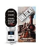 Unlock! - Juego de mesa Tombstone Express (Secret Adventures) (incluye 3 pegatinas...