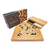 Ishin-Denshin Juego de Mesa Go – Juegos de Mesa Familiares de Estrategia – Juego...