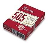 Fournier- Nº 505 Baraja Cartas Poker Clásica, Color rojo o azul (F21644) ,...