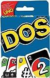 Mattel Games DOS, juego de cartas de UNO, edad recomandada 7 - 10 años (Mattel...