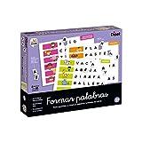 Diset- Formar palabras - Juego educativo para aprender el abecedario y la ortografía...