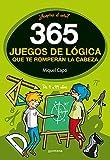 365 enigmas y juegos de lógica: Para niños y niñas. Acertijos divertidos y Retos...