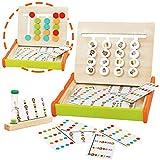 jerryvon Juguetes Montessori de Madera - Puzzle Juego Logica Juegos Educativos Bebé...