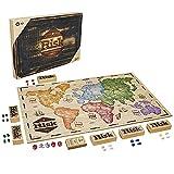 Hasbro Gaming- Risk, edición rústica de Madera, Juego de Mesa de Estrategia,...