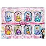 Disney COS1312433 Princess Small 8 Dolls Collection Juego de Estilos Brillantes con...
