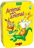 HABA 305910 - Animal sobre Animal, Version Mini, Juego de destreza a Partir de 5...