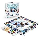 Hasbro Gaming- Monopoly Frozen Juego de Mesa para niños a Partir de 8 años, Color...