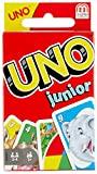 Mattel Games-UNO Junior Disney Juego de Cartas Para Niños, Multicolor, 9.1 x 6.3 x...