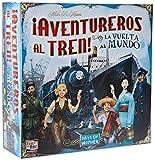 Days of Wonder-¡ Aventureros Al Tren-La Vuelta Al Mundo-Español, color (EDGE...