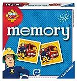 Ravensburger Italy - Fireman, Sam El Bombero Memory en Formato Pocket, 15 x 15 cm,...