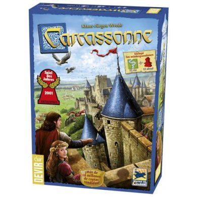 juego de mesa carcassonne caja