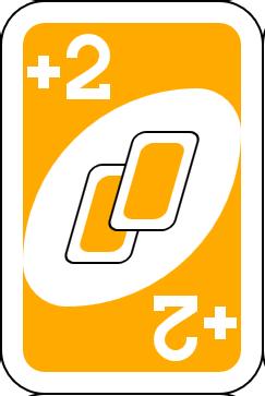 carta mas 2 uno