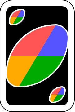 uno carta de cambio de color