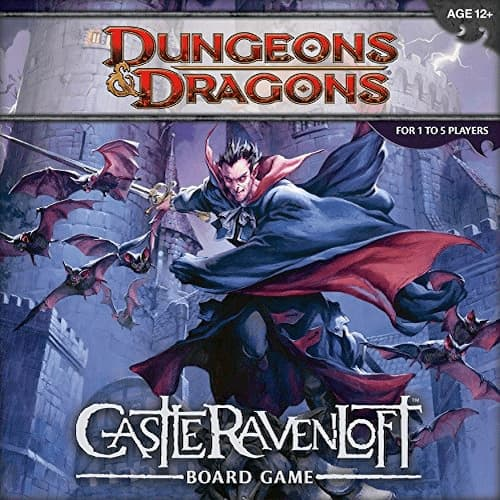 dungeons and dragons castle ravenloft board game