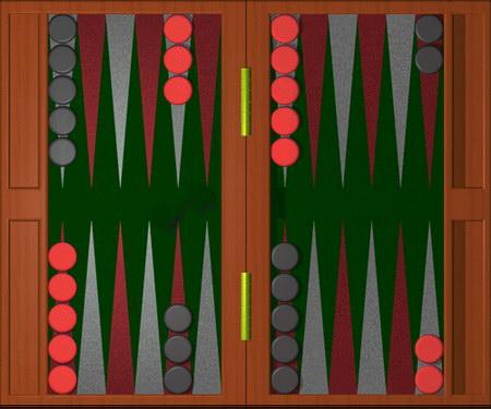 backgammon posicion inicial
