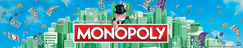 Logotipo del Monopoly con el señor Monopoly