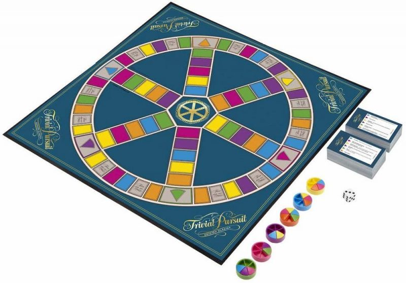 Tablero del Trivial Pursuit Edición Clásica