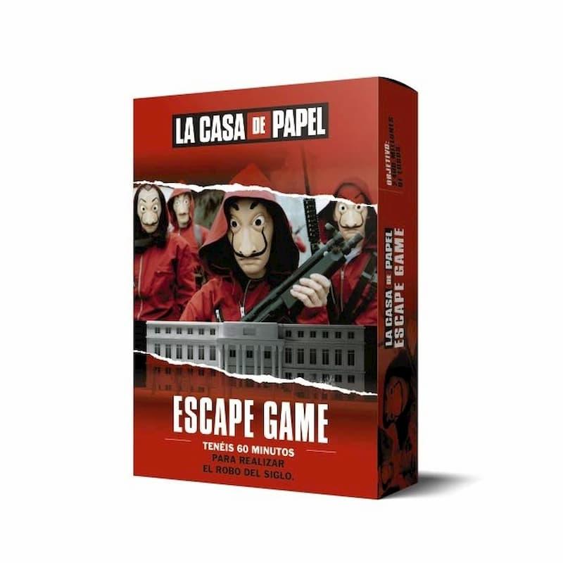 juego de mesa de la casa de papel - escape game