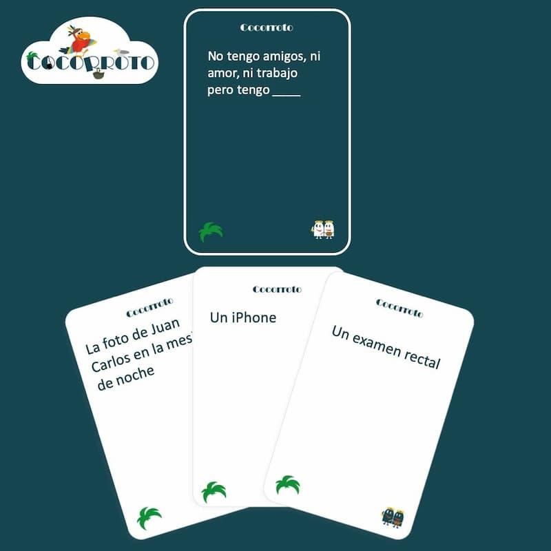 Cocorroto juego de cartas instrucciones