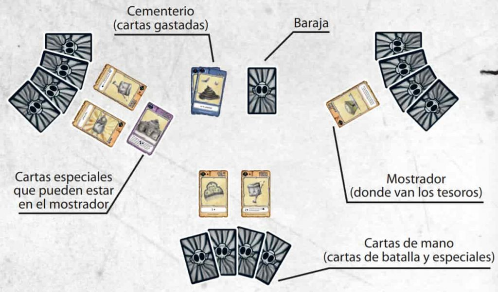 fallera calavera juego de cartas