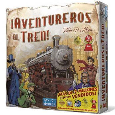 Portada aventureros al tren original