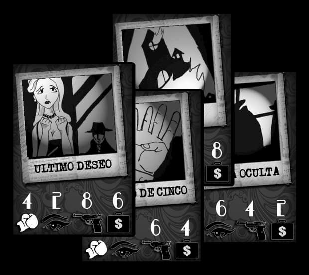 imprimir dark city juego de cartas